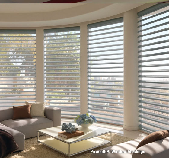 Pirouette® Window Shadings - Hunter Douglas