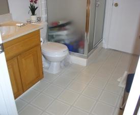 Bathroom #2 Before